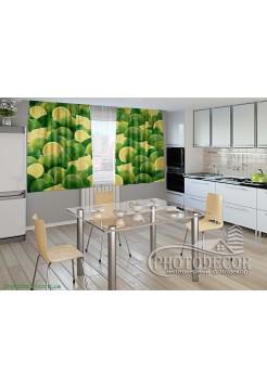 """Фото шторы для кухни """"Лимоны"""""""